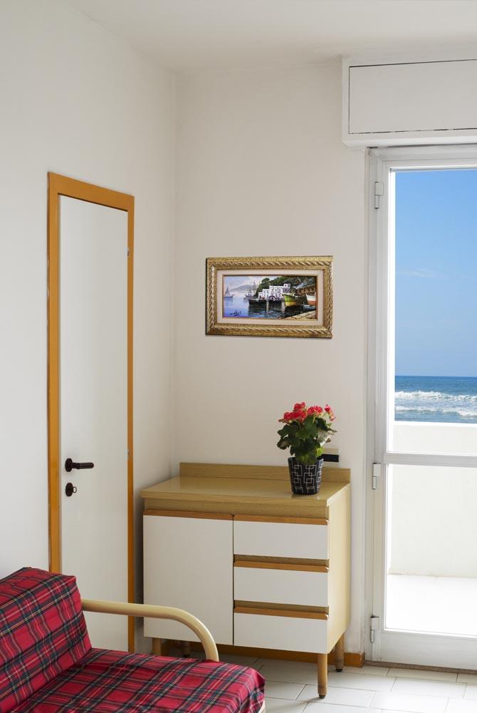 Appartamenti torrette di fano vista mare for Zona living